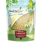 Food to Live Grains De Sarrasin Organiques (Cru, Écossé, Non-Gmo, En Vrac) (8 Onces)