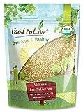 Food to Live Granos de Trigo Sarraceno o Alforfon Bio (Eco, Ecológico, crudo, sin OMG, Kosher) – 1 libra