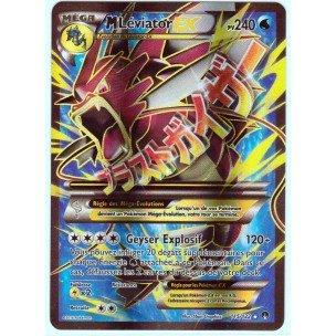 Carte Pokémon 115/122 MEGA M LEVIATOR EX HOLO FULL ART 240 PV - Série XY RUPTURE TURBO XY9 - NEUVE FR ULTRA RARE