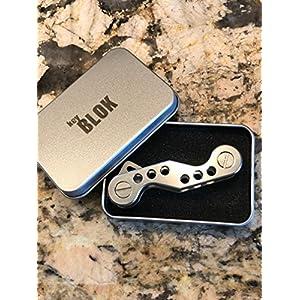 Organizer, Schlüssel Blok Tasche und Handtasche Key Organizer, Titan EDC Schlüsselhalter.