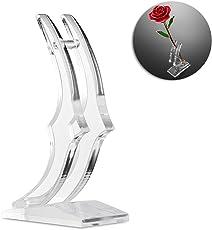 Rose 24K Gold überzogene Rosen-Blume mit Geschenk-Kasten Bestes Geschenk für Valentinstag Muttertag Weihnachtsgeburtstag Golden / Rot / Lila / Blau