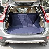 JIALUN-Animal de compagnie Protecteur dorsal de voiture imperméable de chat de chien avec le PVC vérifié modèle bleu anti-dérapant 147 * 120CM Hautement protecteur pour les voitures et SUV