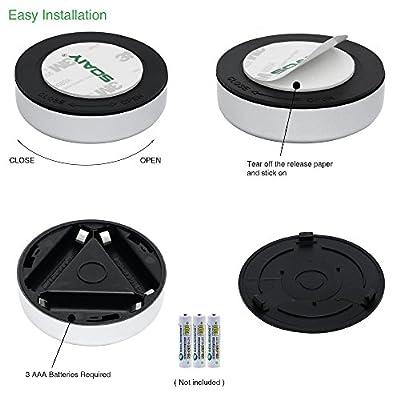 SOAIY? Stick&Push LED Touch Lampe Nachtlicht Batteriebetrieben selbstklebend K¨¹chenlampen Schrankleuchten