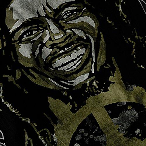 Frieden Rasta Bob Marley Rasta Leben Damen S-2XL Muskelshirt | Wellcoda Schwarz