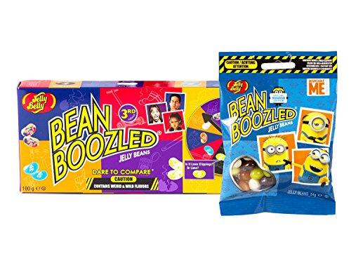 Jelly Belly Glücksrad Bean Boozled und Minion Edition Tüte (154 g)