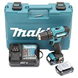 Makita DF333DSAE Perceuse-Visseuse sans Fil 30Nm-2 Akku Li-Ion 12V max 2.0Ah