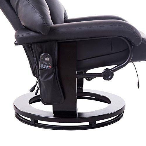 homcom 700-008BK Massagesessel mit Heizfunktion - 7