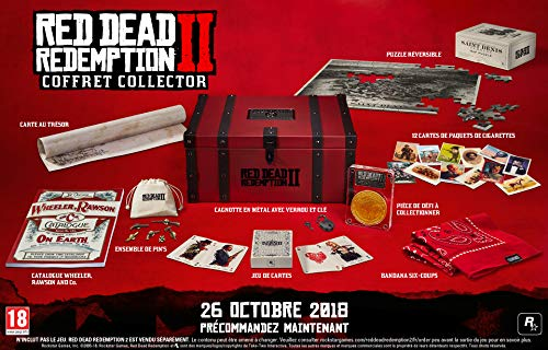 RED DEAD REDEMPTION 2: COLLECTOR'S BOX - OHNE Spiel! (Revolver Xbox Red Dead)