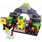 Emob Cartoon Character Theme 3D Block Set With 2 Mini Figure Puzzle Learning Toy For Kids (70pcs)