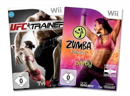 Zumba Fitness inkl. Fitness-Gürtel und UFC Personal Trainer Bundle