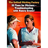 Nancy Evans: The Softball Pitching Factory: 15 Fixes for Pitchers - Troubleshooting with Nancy Evans! (DVD)