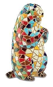 Katerina Prestige-Figura Marmota mosaicos, mo0527
