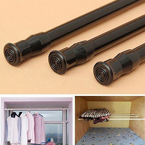 Ungfu Mall 1 PC Ausziehbare einstellbare Federspannung Fenster Vorhang Rod Pole Teleskopstange Duschvorhang Rod (Vorhang-stab Ausziehbare)