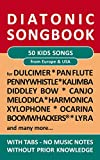 50 Kids Songs from Europe and Amerika - diatonic melodies, no music notes: Simplest notet for Pan Flute, Canjo, Xylophon, Ocarina, Melodica, Penny Whistle, ... Songbooks Book 6) (English Edition)