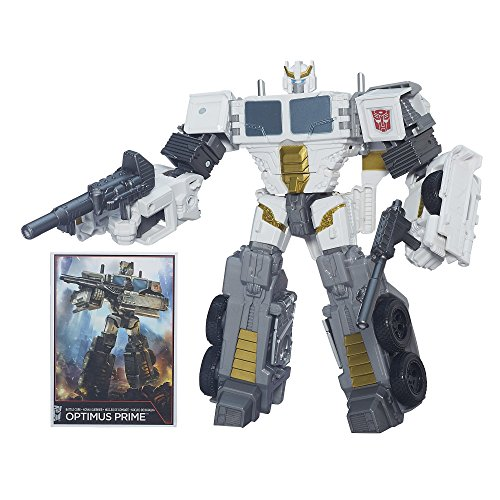 Transformers Generationen Combiner Wars Voyager Class Schlacht Core Optimus Prime Figur