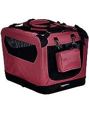 AmazonBasics Premium Folding Portable Soft Pet Crate - 21in