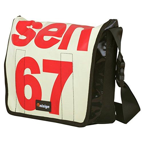 Unisign LKW PLANEN Tasche Messenger Bag Kuriertasche Schultertasche
