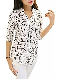 Vrati Fashion Women's Crepe Shirt (White_Free Size)