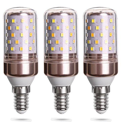 LED E14 Lampe 12W/Ersetzt 80w/823 Lumen/3000 Kelvin Warmweiß - 3er-Pack
