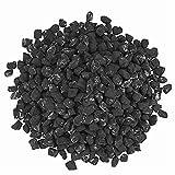 GFTIME Ceramic Fibre Coals Rocks für Gas Logs Sets, Dekorative Flaky Coals für Outdoor Kamine & Feuerstelle, Indoor Gas Einsätze, Ventless & Vent Free, Propan, Grau (1 kg/Beutel)