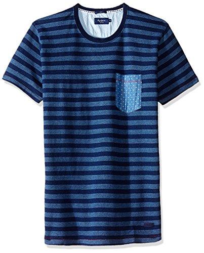 Pepe Jeans Blau T- Shirt Passmore Blau