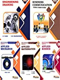 Mechanical Engineering Group: F.Y. Diploma Engg. MSBTE's I Schems 2018 Syllabus (set of 5 Books)