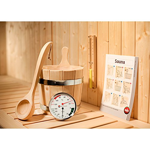 Premium-Zubehör-Set 5-teilig für Sauna