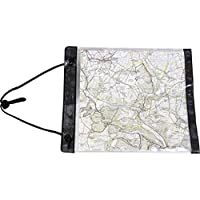 Highlander Scout Weatherproof Transparent PVC Map Case Mens