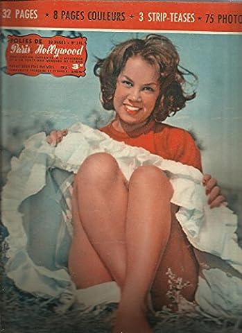 Folies De Paris Et De Hollywood N° 215 - la panthère blonde - miss ombrelle - nora au bain - biche en vacances - gros plans
