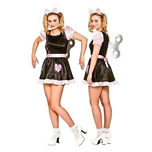Wind Up Doll Women's Costume Scary Halloween Fancy (Kostüme Characters Storybook Halloween)