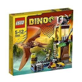 Lego-Dino-5883-Pteranodon-Falle