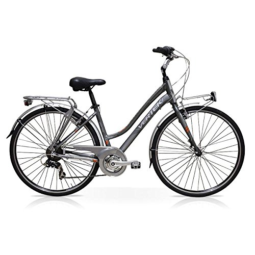 VERTEK AMSTERDAM PARA BICICLETA 24 21 VELOCITAGRIS TITANIO 44 CM (CITY)/BICYCLE AMSTERDAM WOMAN 28 21 SPEED GREY TITANIUM (CITY) 44 CM