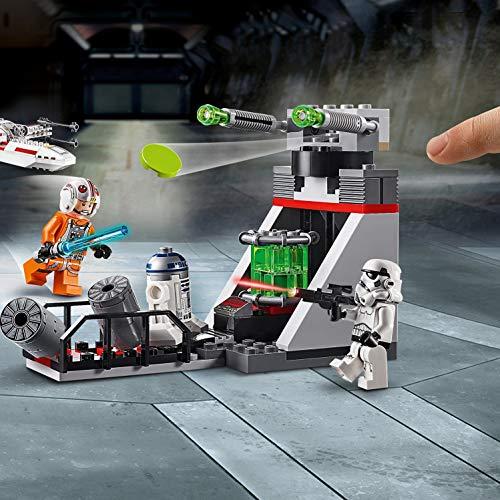 51iD9GHltFL - LEGO Star Wars - Asalto a la Trinchera del Caza Estelar Ala-X, juguete de construcción de nave espacial de La Guerra de las Galaxias (75235)