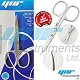 YNR England Premier Toe Nail Scissors Clippers Podiatry Chiropody StainlessSteel