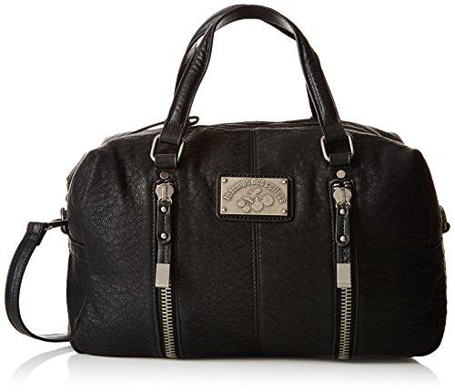 Le Temps Des Cerises Bonnie 2, Sac porté main - Noir (Noir 0121), Taille Unique