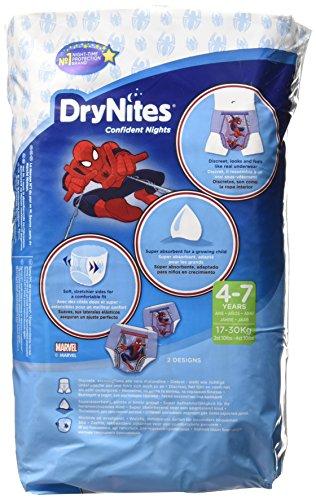 Dry Nites Pyjama Unterhosen  Boy 4-7 Jahre, 3er Pack (3 x 10 Stück) - 2