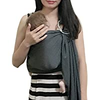 Marsupi a fascia fascia porta bebè marsupio neonato sling Acqua Taglia Unica