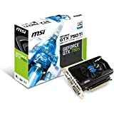MSI NVIDIA GTX 750Ti OC 1059MHz (Boost 1137MHz) 5400MHz 2GB 128 Bit DDR5 DL-DVI-D HDMI PCI-E Graphics Card