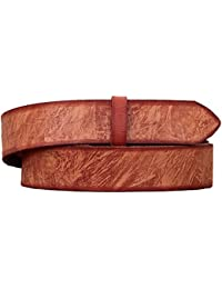 LaCeinture Indie Naturel PAUL MARIUS ceinture cuir boucle cachée style vintage