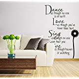 English Letters Household Bedroom Wall Sitting Room Wall Stickers Sitting Room Bedroom Decorations