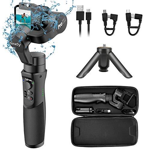 Hohem Gopro Gimbal Stabilizer, iSteady Pro 2 Gimbal, Wasserspritzen 3-Achsen-Handstabilisator, für OSMO Action, Gopro Hero 7/6/5/4, andere Action-Kameras, für Vlogger (iSteady Pro2)
