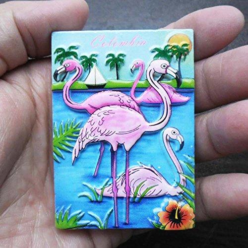 3D, Polyresin, Kolumbien Tourist Souvenir, Polyresin Kühlschrank Magnet Crane Home Kitchen Dekoration Werbe Geschenk (Werbe-magnete)