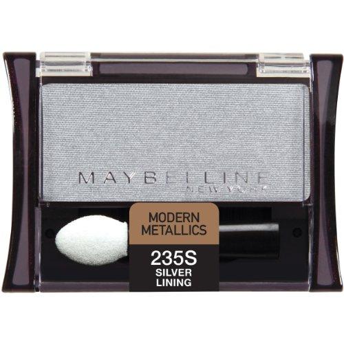Gemey Maybelline - Fard à paupières - Expert Wear Eyeshadow Nouvelle Formule - N°235 Silver Lining