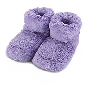 Intelex - Chausson Chauffant au Micro-Ondes - Violet
