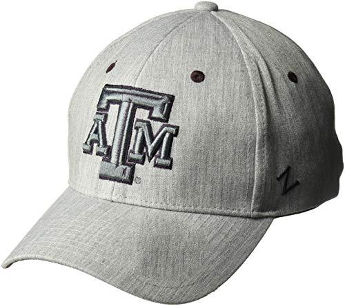 Preisvergleich Produktbild Zephyr NCAA Herren Tailored Stretch Cap,  Herren,  Tailored,  grau,  Medium / Large