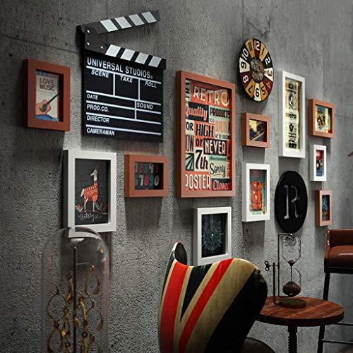 BEAUTIFUL HOME Conjunto marcos fotos madera centro