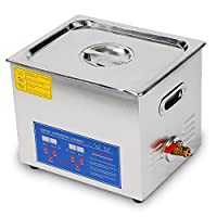 JAKAN PS-40A Digital 10L Ultrasonic Cleaner to Clean the Surface,Slit,Gap,Blind Hole of Parts.