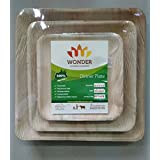 Disposal Eco Friendly Square Plate Plate Set Of 15,