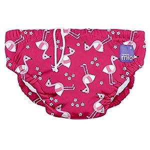 Bambino Mio, costumino contenitivo, fenicottero rosa, L (1-2 anni)