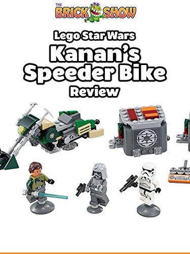 Review: Lego Star Wars Kanan's Speeder Bike Review [OV] (Kanan Lego Wars Star)